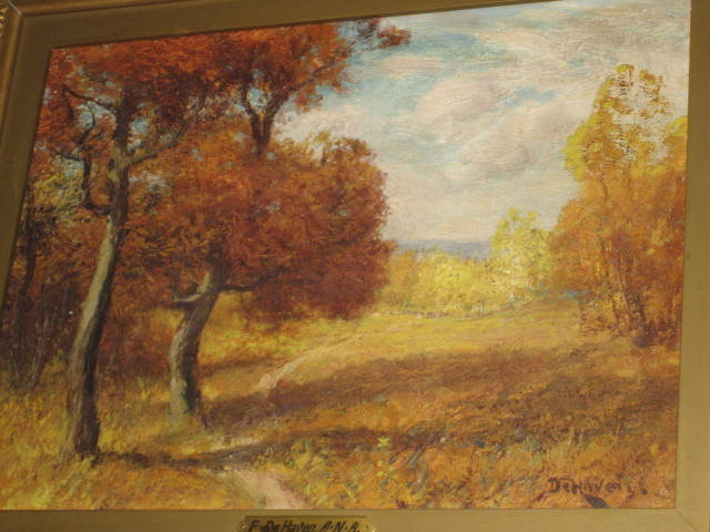 Nineteenth Century Oil on Canvas by Franklin De Haven,