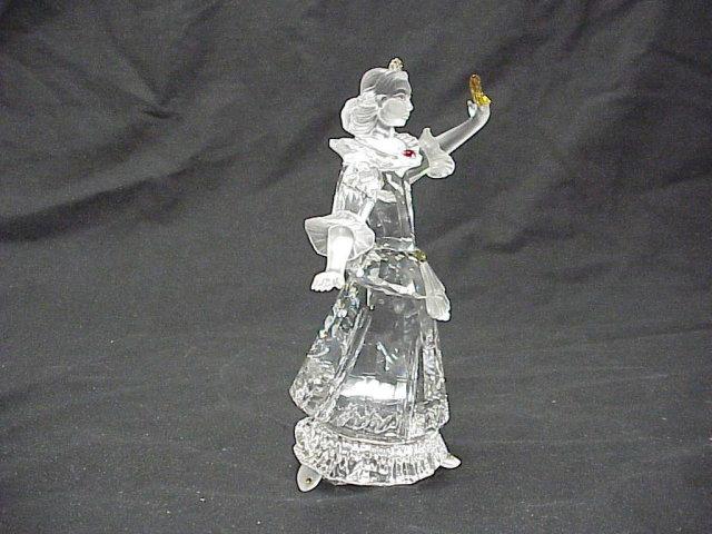 2000 Swarovski Crystal Masquerade Figure Colombine 6½