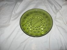 set of 8 green dishes