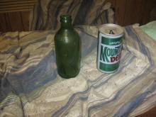 YAHOOL! MOUNTAIN DEW CAN AND TWO AWAY BOTTLE BUY TOGETHER OR NOT FOR SET IS