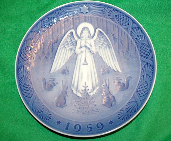 B&G Christmas Collector Plate -