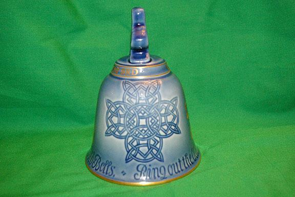 Rare Royal Copenhagen Porcelain 1980 Collector Bell