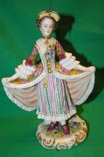 Rare 19th Century Volkstedt Figurine