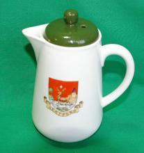 Crested Shelley China - Hertford Creamer