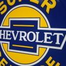 OUR LARGEST SUPER CHEVROLET AUTOMOBILE SIGN - LOW SHIPPING COST