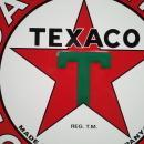 OUR LARGEST TEXACO GAS & OIL SIGN // TOP QUALITY -  LOW SHIPPING COST