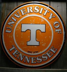 OUR LARGEST UNIVERSITY OF TENNESSEE  SIGN  - UT