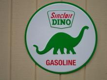 OUR LARGEST SINCLAIR DINOSAUER GASOLINE  METAL SIGN // MADE IN USA