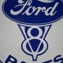 OUR LARGEST GENUINE FORD V8 PARTS SERVICE GARAGE SIGN / LOW SHIPPING COST