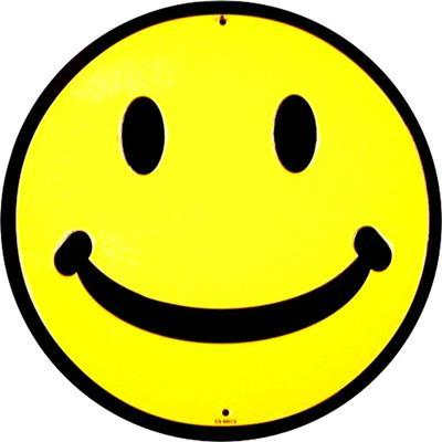 HAPPY FACE Sign / FREE SHIPPING