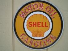 SHELL Gas & Oil  Metal Sign / FREE SHIPPING
