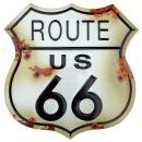 ROUTE 66 Metal Sign / FREE SHIPPING