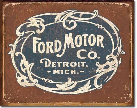 Ford Motor Company Metal Sign / FREE SHIPPING