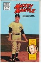 MICKEY MANTLE New York Yankee Hall of Fame Great -  Original1992 Magnum Comic Magazine