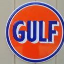 LOT OF ALL  ( 3 )  OF OUR LARGEST GAS & OIL SIGNS, MOBIL - SINCLAIR & GULF - FREE SHIPPING