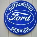LOT OF ALL  ( 3 )  OF OUR LARGEST FORD MOTOR COMPANY SIGNS- FREE SHIPPING