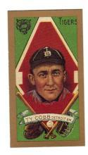 TY COBB 1909 T-205 Piedmont Tobacco Card - RP Beautiful Color  - Free Shipping
