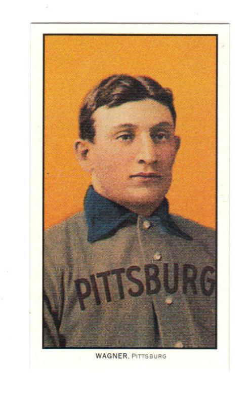 HONUS WAGNER  &  TY COBB Both From 1909 T-205 Piedmont Tobacco Card - Reprints With  Beautiful Color  - Free Shipping