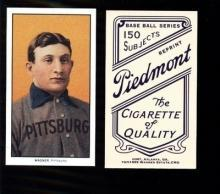 HONUS WAGNER 1909 - 1911 T-205 Piedmont Tobacco Card - RP Beautiful Color  - Free Shipping