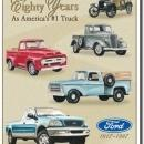 FORD TRUCK ANNIVERSARY  SIGN -- FREE SHIPPING