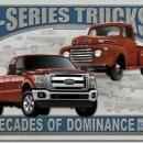 FORD TRUCK F-150 F-250 F-350  SIGN -- FREE SHIPPING