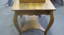 American Oak Library Table
