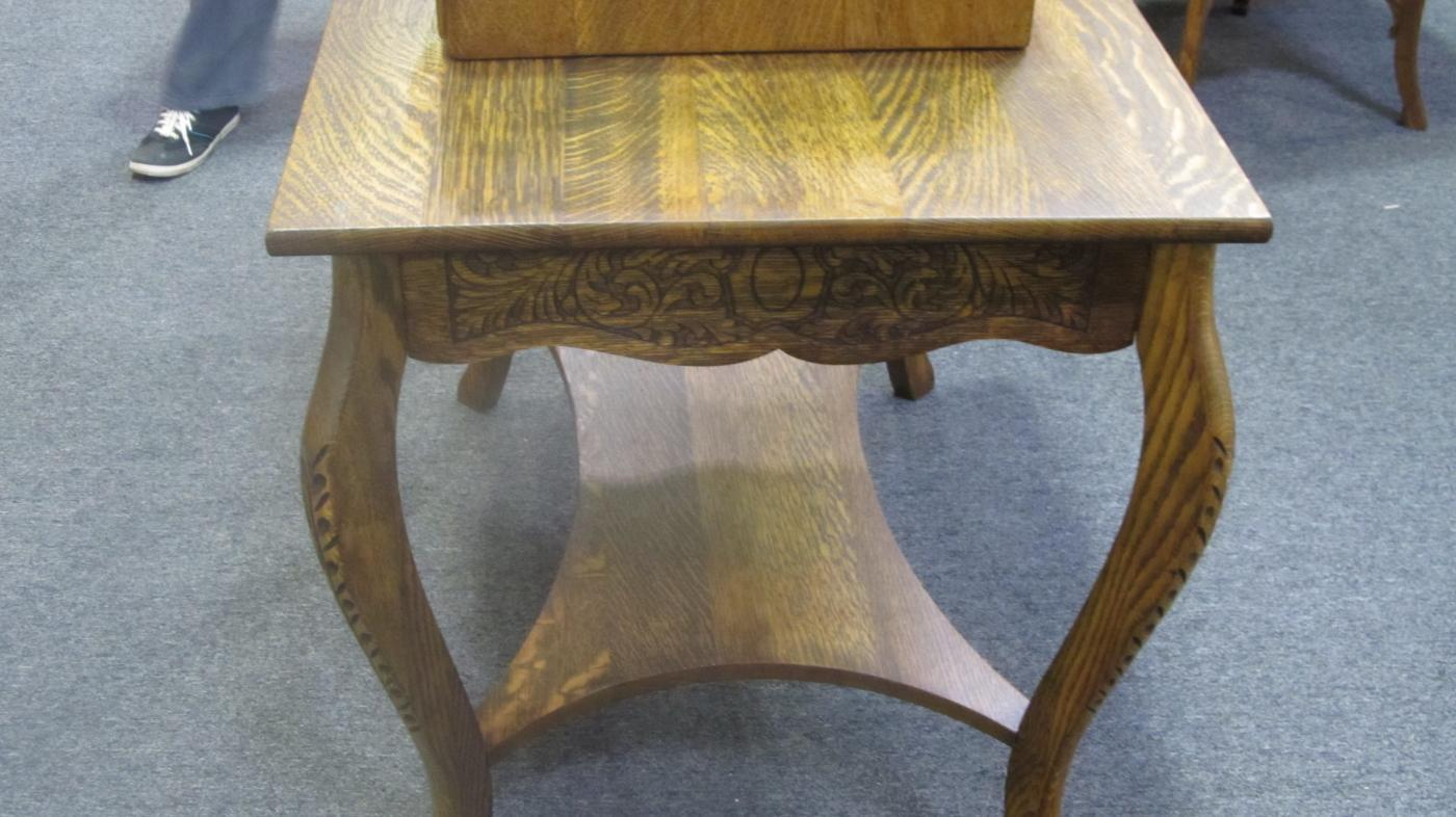 American Oak Library Table
