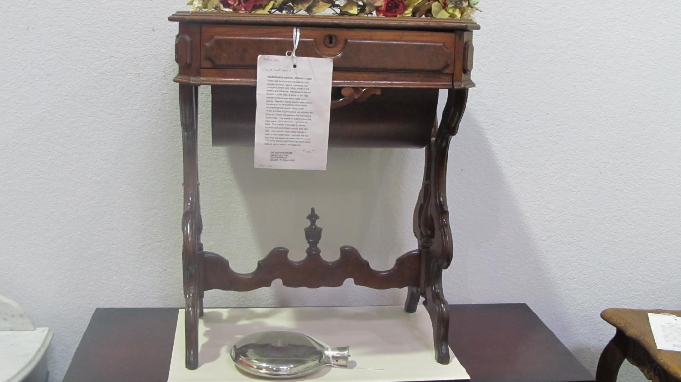 Sewing Stand (Renaissance Revival)