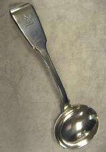 Antique English Fiddle Pattern Gravy Ladle