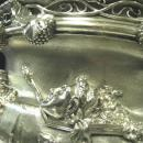 Rare, Monumental, Antique English, Sterling Silver