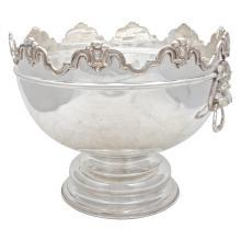 Very Large Monteith Bowl. Flowers/Wine/Punch/Centerpiece Bowl