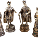 Magnificent, Sterling Silver Chess Set