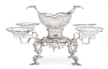 Georgian, Sterling Silver Epergne