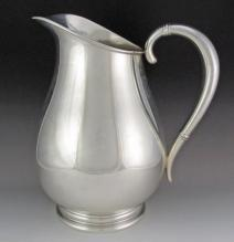 Royal Danish, Sterling Silver Water Pitcher