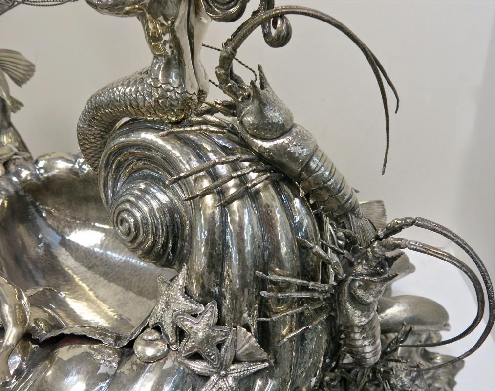 Magnificent Buccellati Sterling Silver Centerpiece