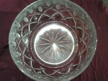Sparkling Cut Crystal Bowl