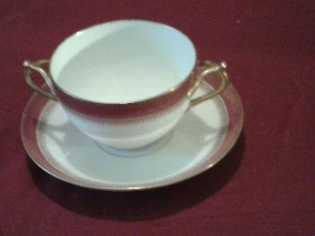 Set of 12 Limoges Cream Soup Bowls