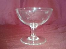 Set of 7 Crystal Fruit or Sherbert Cups