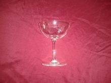 Set of 12 Crystal Champagne Saucers