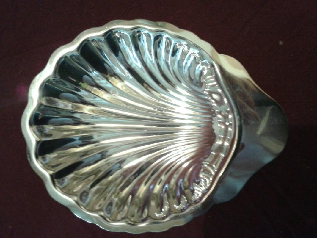 Silverplate Candy Dish