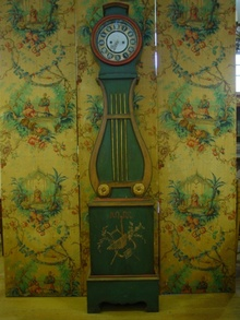 Swedish Long case Clock