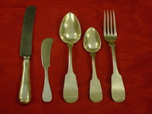 Set of 52 Sterling Porter Blanchard Flatware
