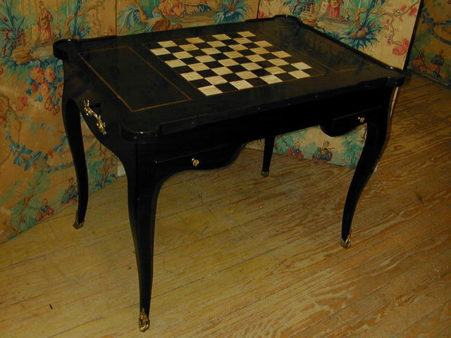 18TH.cent. Backgammon/Tric-Trac Game Table