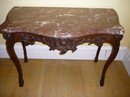 mid-18th century Period French Baroque Oak Console Table