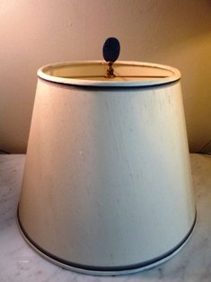 PAIR OF LAPIS LAZULI COLUMNS MADE INTO LAMPS