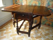 LATE 17th.CENT. ENGLISH OAK GATE-LEG TABLE