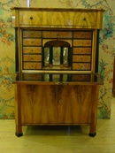 Biedermeier Fitted Fall Front Secretaire