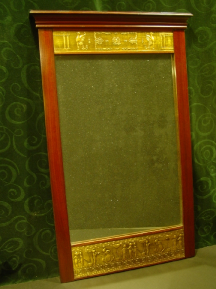 Early 19th. cent. continental Neo-classic Mirror