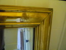 FRENCH 19TH. CENT. BRASS BISTRO MIRROR
