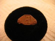 Roman Brass Ring Wearable Nice Engraved Design